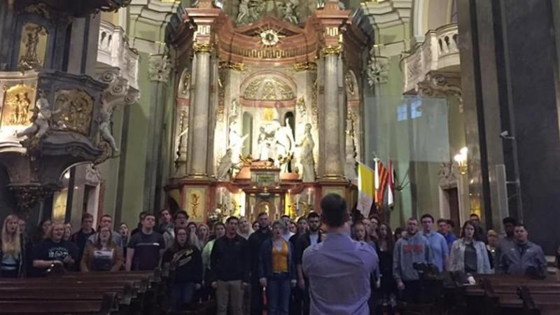Concert Choir in Europe (Budapest)