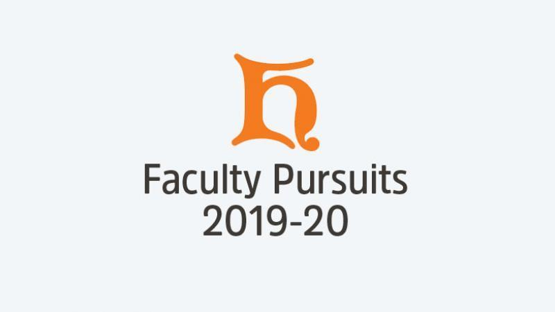 faculty pursuits 19-20