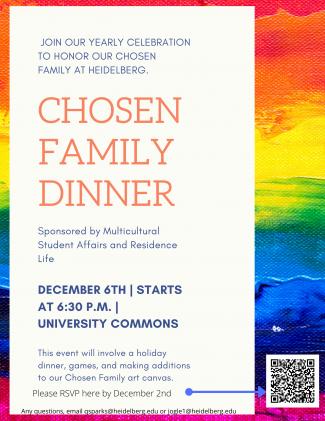 Chosen Family Flyer